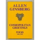 Cosmopolitan Greetings by Allen Ginsberg (Book) 1994