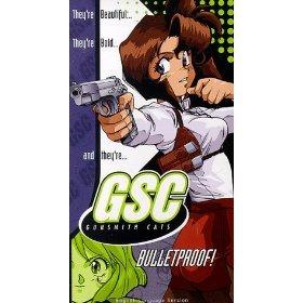 Gunsmith Cats Bulletproof (VHS) 1997