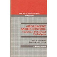 Adolescent Anger Control by Eva Feindler and Randolph Ecton (Book) 1986