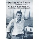 Deliberate Prose by Allen Ginsberg (Book) 2000
