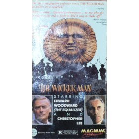Wicker Man (VHS) 1973