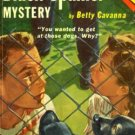 The Black Spaniel Mystery by Betty Cavanna (Book) 1951