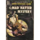 The Mad Hatter Mystery by John Dickson Carr (Book) 1954