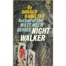 Night Walker by Donald Hamilton (Book) 1964