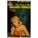 The Case Of the Dangerous Dowager by Erle Stanley Gardner (Book) 1946