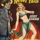 The Curtain Never Falls by Joey Adams (Book) 1950