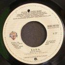 Fleetwood Mac~Sara / That's Enough for Me~ Warner Bros. Records 1979, 45
