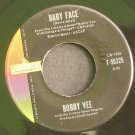 BOBBY VEE~Baby Face / How Many Tears~ Liberty F-55325 1961, 45