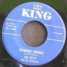 EARL BOSTIC~Melancholy Serenade / No Pearls~ King 45-4644 1953, 45