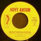 HOYT AXTON~Heartbreak Hotel~ DPI DPI 5001  1990, 45