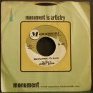 JERRY BYRD~Invitation (To Love) / Memories of Maria~ Monument 45-449 1961, 45
