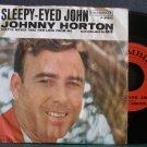 JOHNNY HORTON~Sleepy-Eyed John~ Columbia 4-41963 1961, 45
