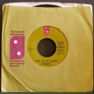 THE O'JAYS~Love Train / Time to Get Down~ Philadelphia Int'l ZS8 3754 1972, 45 VG++