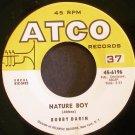 BOBBY DARIN~Nature Boy~ ATCO 45-6196 1961, 45