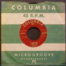 DORIS DAY~A Purple Cow / Kiss Me Again, Stranger~ Columbia 4-40020 45 RARE VG+