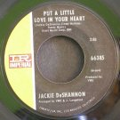 JACKIE DESHANNON~Put a Little Love in Your Heart / Always Together~ IMPERIAL 66385 1969, 45