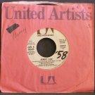 JAN & DEAN~Jenny Lee / Vegetables~ United Artists 50859 1965, PROMO 45