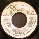JOE CAIN~Stan Kenton Medley / Boogie Woogie~ Zoo York Recordz WS4 03821 1983, PROMO 45