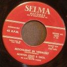 MORTON CRAFT~Moonlight in Vermont / Perdido ~ Selma 1001 45
