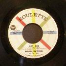 RONNIE HAWKINS & HAWKS~Hay Ride / Ruby Baby~ Roulette R-4249 1960, 45