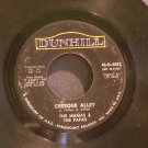 MAMAS & THE PAPAS~Creeque Alley~ Dunhill 45-D-4083 1967, 45
