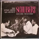 FINE ARTS QUARTET~Schubert: Quartet in D Minor, Death & the Maiden~Concert-Disc CS 212 LP