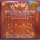 JEAN-CLAUDE MALGOIRE~Handel: Music for the Royal Fireworks, Etc.~CBS Masterworks M 42123 LP