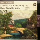 DAVID OISTRAKH~Beethoven: Concerto for Violin, Op. 61~VOX STPL 516.150 LP