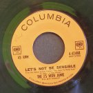 THE J'S WITH JAMIE~Let's Not Be Sensible / One Little World Apart~ Columbia 4-42488 45