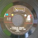 CHARLIE DRAKE~My Boomerang Won't Come Back / She's My Girl~ United Artists UA 398 1961, 45
