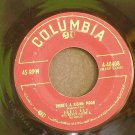 DORIS DAY~There's a Rising Moon / Till My Love Comes to Me~ Columbia 4-40408 1954, 45