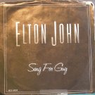ELTON JOHN~Song for Guy~ MCA MCA-40993 1979, 45