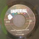 FATS DOMINO~I Want to Walk You Home / I'm Gonna Be a Wheel Some Day~ IMPERIAL X5606 1959, 45