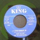 HANK BALLARD~If You'd Forgive Me~ King 45-5400 1960, 45 VG+