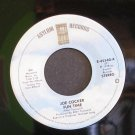 JOE COCKER~Fun Time / Watching the River Flow~ Asylum E-45540 1978, 45