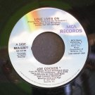 JOE COCKER~Love Lives on / On My Way to You~ MCA MCA-53077 1987, 45