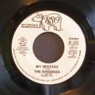KINGBEES~My Mistake~ RSO RS 1032 1980, PROMO 45
