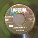 RICKY NELSON~Sweeter Than You / Just a Little Too Much~ IMPERIAL X5595 1959, 45