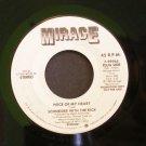 SCHNEIDER WITH KICK~Piece of My Heart / Weekend~ Mirage 7-99965 1982, PROMO 45