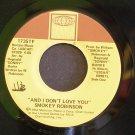 SMOKEY ROBINSON~And I Don't Love You / Dynamite~ Tamla 1735TF 1983, 45
