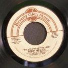 BOBBY WOMACK~Where Do We Go From Here / Just My Imagination~ Beverly Glen Music BG2001 1981, 45 NM