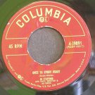 JO STAFFORD~Once to Every Heart~ Columbia 4-39891 45