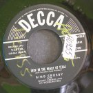 BING CROSBY~Deep in the Heart of Texas / Do You Care?~ Decca 9-28319 45