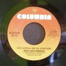 ELVIS COSTELLO~New Amsterdam / Wednesday Week~ Columbia 1-11284 1980, 45