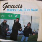 GENESIS~Taking it All Too Hard / Silver Rainbow~ Atlantic 7-89656 1984, 45