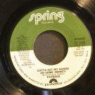 FATBACK~Gotta Get My Hands on Some (Money)~ Spring SP 3008 1980, 45