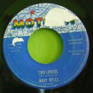 MARY WELLS~Two Lovers / Operator~ Motown M 1035 1962, 45
