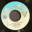 TYRONE DAVIS~I'm in Love Again / Serious Love~ Future FR 102 1987, 45
