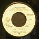 ASHFORD & SIMPSON~Make it to the Sky~Warner Bros. WBS49594 (Funk) Rare VG++ 45