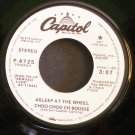 ASLEEP AT  WHEEL~Choo Choo Ch Boogie~Capitol 4725 1st Promo Rare VG++ 45